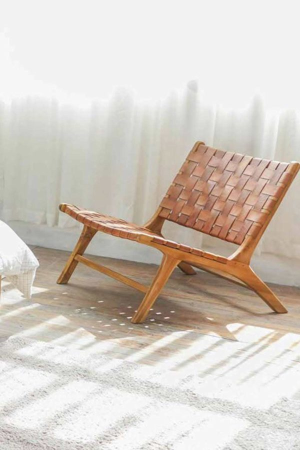 Falch & Frische leather lounge chair ff65
