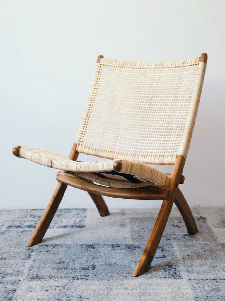 Lounge Chair Ff 62 Sammenleggbar Falch Frische