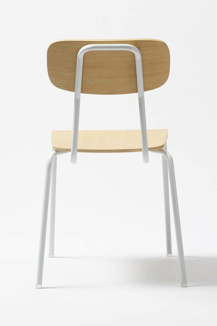FF-06 hvit fra baksiden.- Falch frische dansk norsk designer møbler billig rimelig populær
