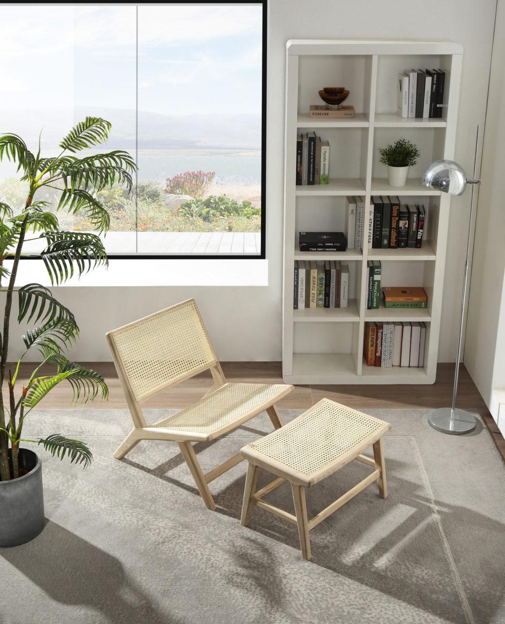 Ikea stockholm rotting skap stilen fra Falch og Frische stol i rotting lounge stol
