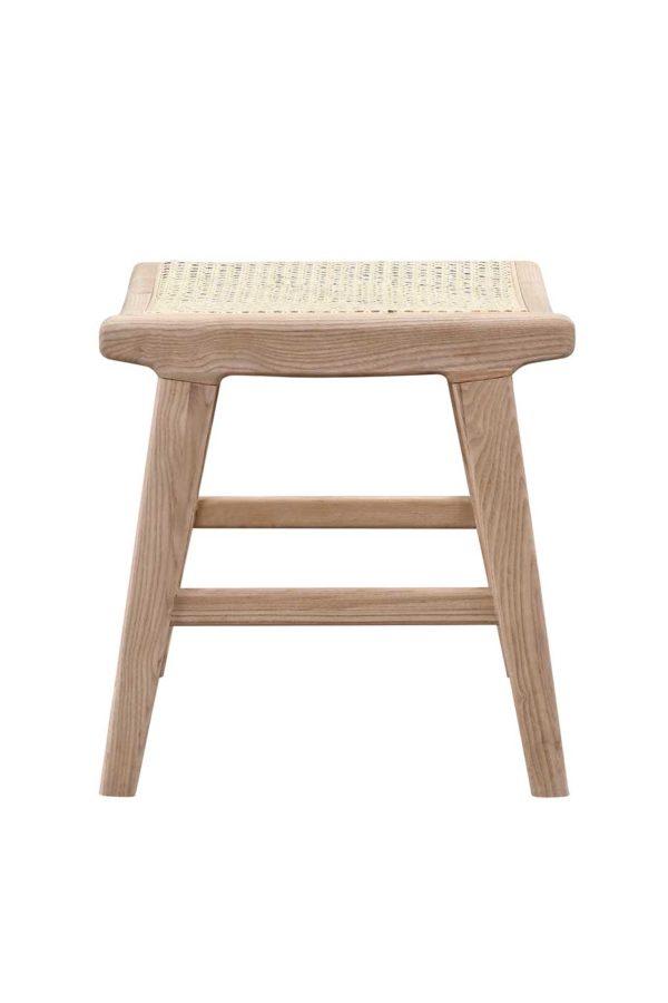 Rattan krakk I ask og eik vakker bambus krakk